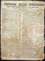 Sydney Gazette and New South Wales Advertiser, March 22nd 1827